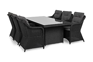 Marcus Spisebordsæt 200 + 6 Lænestol