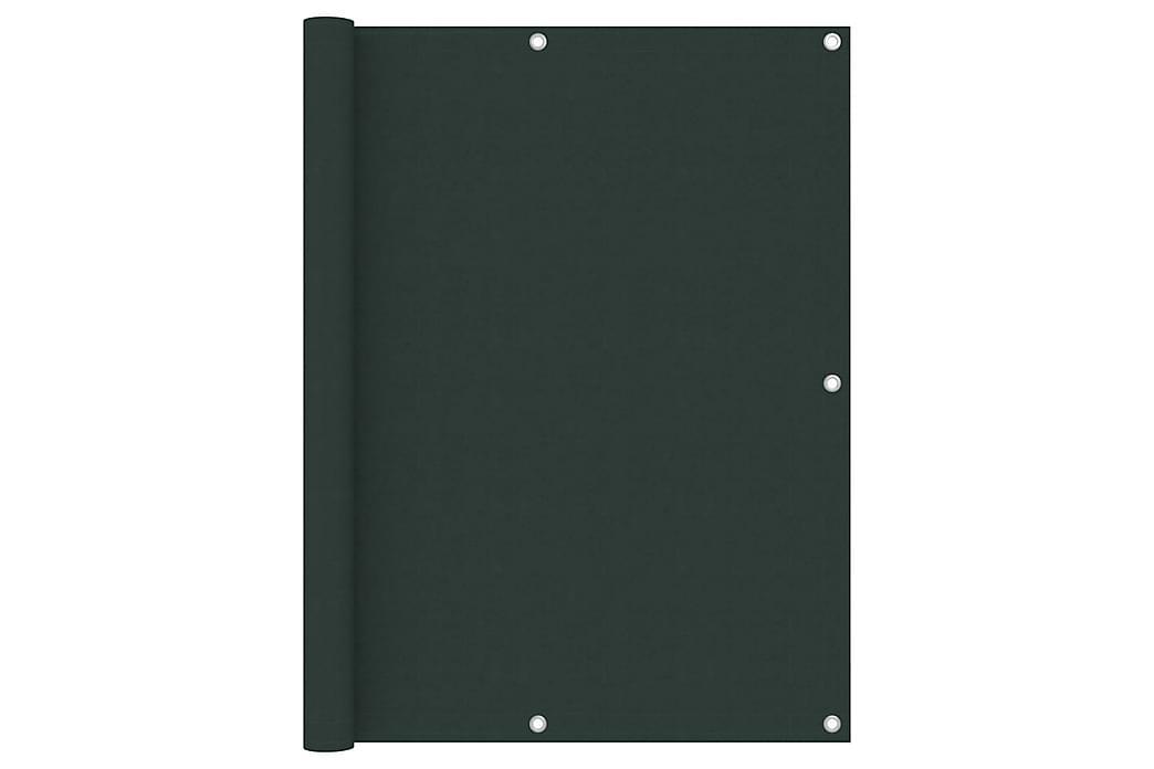 altanafskærmning 120x500 cm oxfordstof mørkegrøn - Grøn - Havemøbler - Solafskærmning - Altanafskærmning