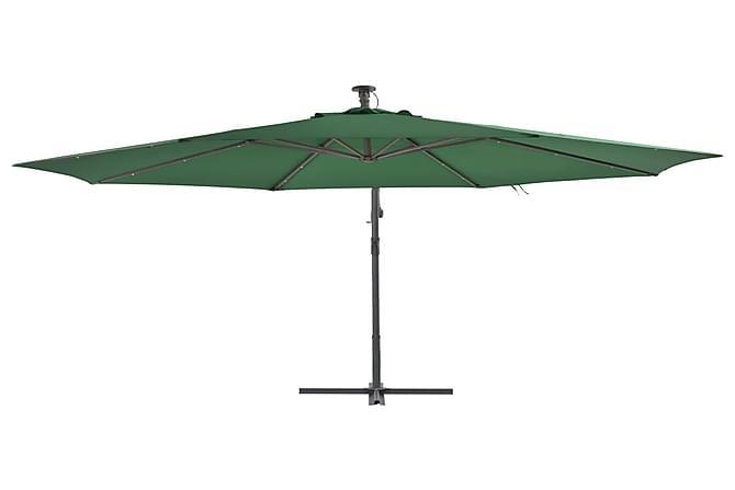 parasol med lys