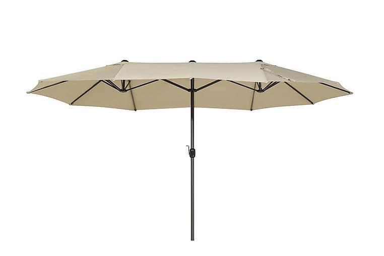 Leppin Parasol - Beige - Havemøbler - Solafskærmning - Parasoller