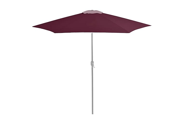 udskiftningsdug til parasol 300 cm bordeauxfarvet - Havemøbler - Solafskærmning - Parasoller