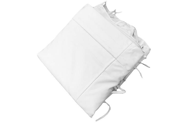 Trebami loft til væg pergola 35x42 cm - Off white - Havemøbler - Solafskærmning - Pergola