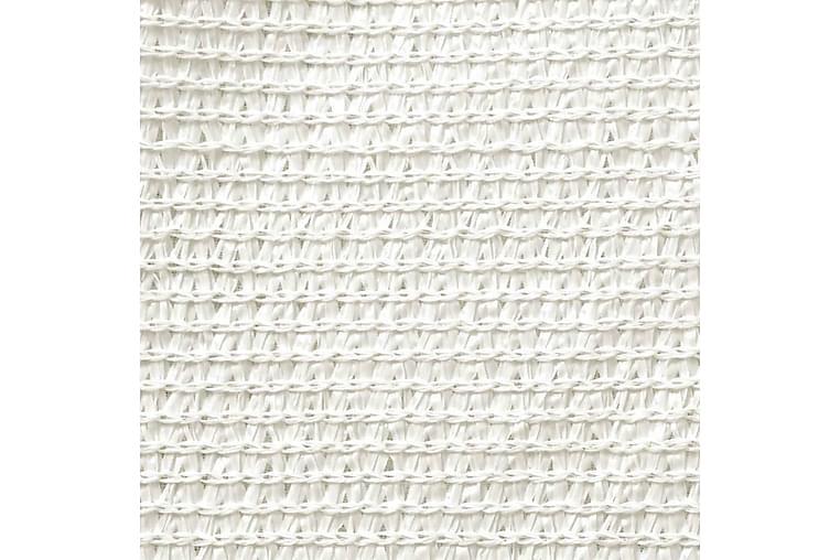 Solsejl 160 g/m² 3/4x3 m Hdpe Hvid - Hvid - Havemøbler - Solafskærmning - Solsejl