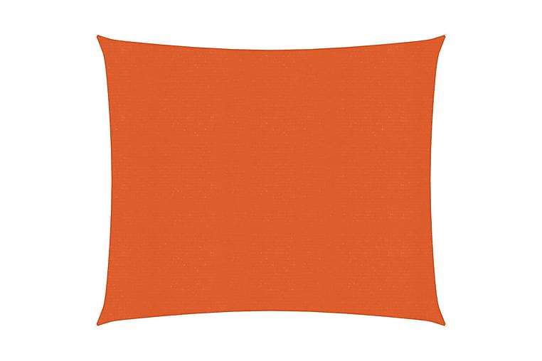 solsejl 2x2 m 160 g/m² HDPE orange - Orange - Havemøbler - Solafskærmning - Solsejl