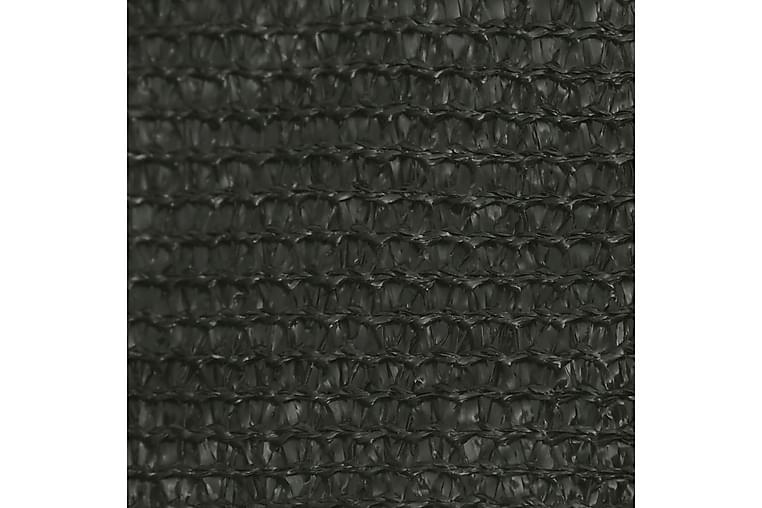 Solsejl 3x4 m 160 g/m² hdpe antracitgrå - Antracit - Havemøbler - Solafskærmning - Solsejl