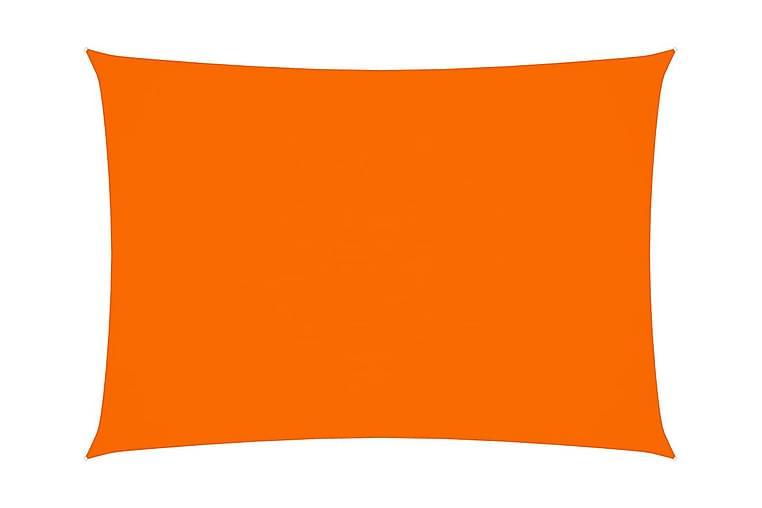solsejl 3x4,5 m rektangulær oxfordstof orange - Orange - Havemøbler - Solafskærmning - Solsejl