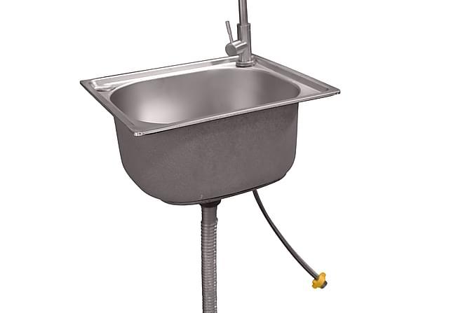 Bagani Del til Udekøkken 37x32 - Sølv - Havemøbler - Udekøkken - Byg dit eget udekøkken