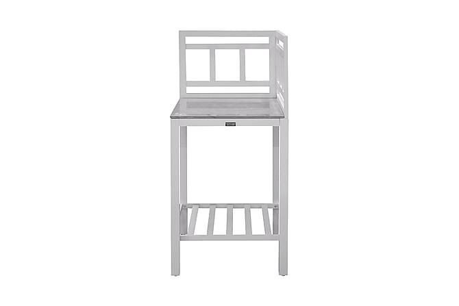 Bagani Hjørnedel til Udekøkken 60x60 - Hvid - Havemøbler - Udekøkken - Byg dit eget udekøkken