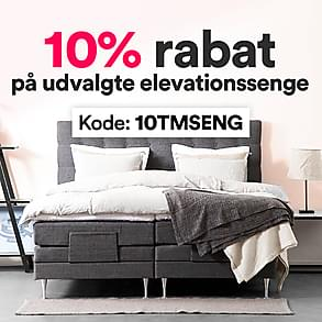 10% rabat på udvalgte elevationssenge
