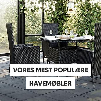Vores mest populære havemøbler