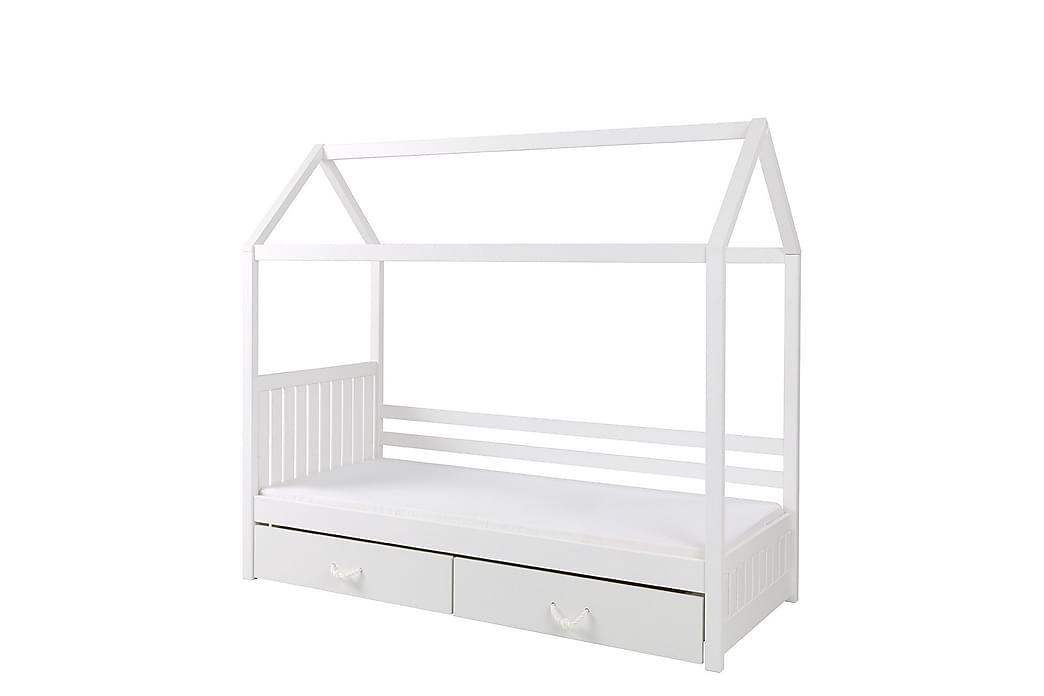 Carnero Børneseng 90x180 cm - Hvid - Møbler - Børnemøbler - Børneseng & juniorseng