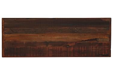Barbord I Massivt Genanvendt Træ 120 X 60 X 107 Cm Mørkebrun