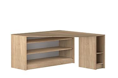Kube Hjørneskrivebord 94 cm med Hylder