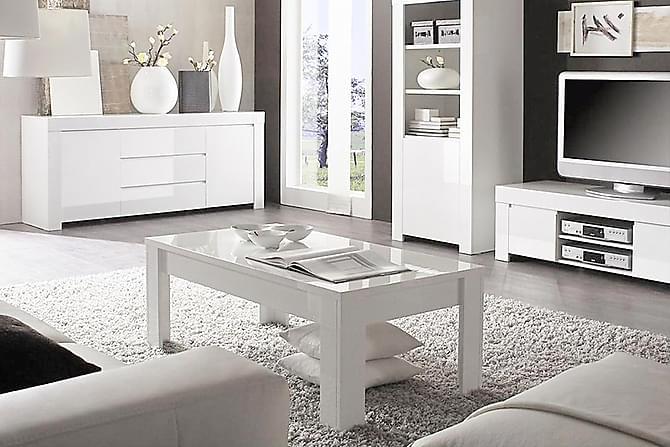 Amalfi Sofabord 122 cm - Hvid - Møbler - Borde - Sofaborde