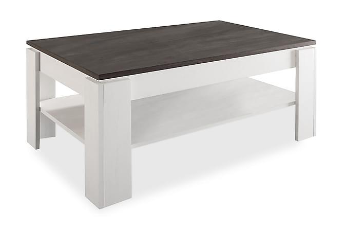 Conor Sofabord 110 cm - Hvid/Mørkegrå - Møbler - Borde - Sofaborde