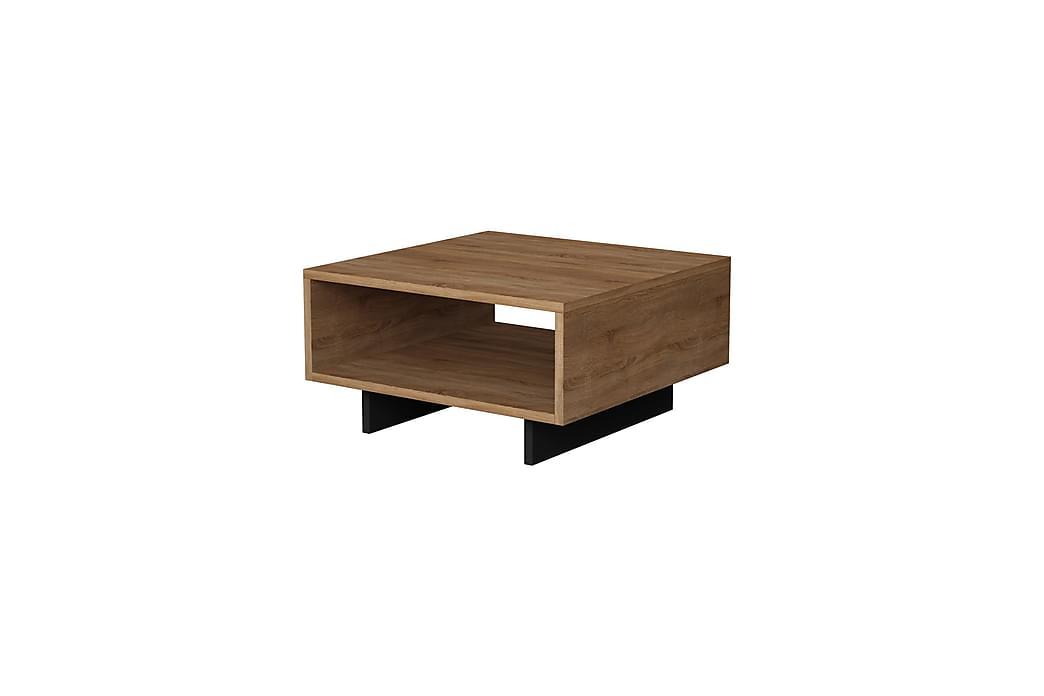 Decortie sofabord - Egetræ / Mørkegrå - Møbler - Borde - Sofaborde