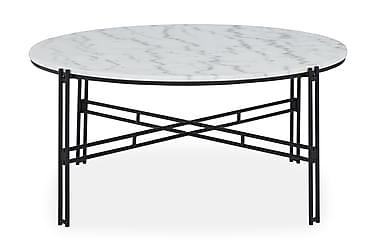Ponza Sofabord 100 cm Rund Marmor