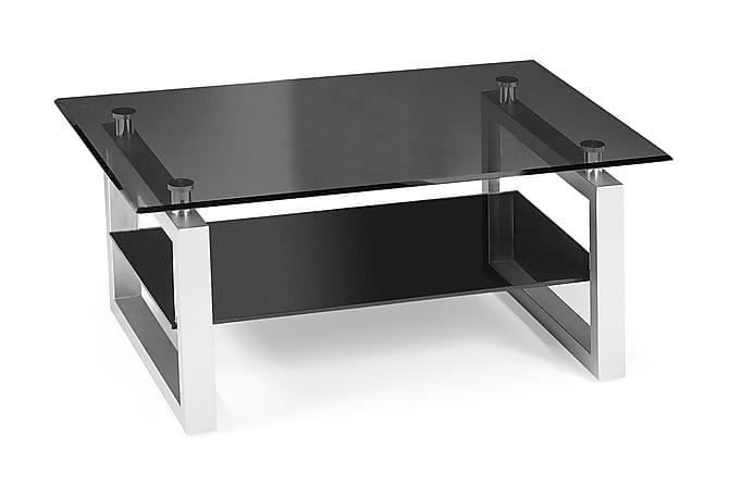 Sala Sofabord 110 cm - Glas/Sort - Møbler - Borde - Sofaborde