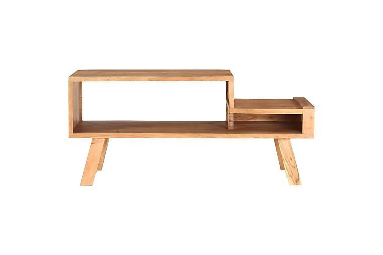 Sofabord 100X50X45 cm Massivt Akacietræ - Møbler - Borde - Sofaborde