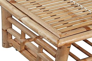 Sofabord Bambus 90X50X45 Cm