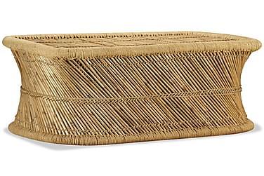 Sofabord Rektangulært 78 X 50 X 45 Cm Bambus
