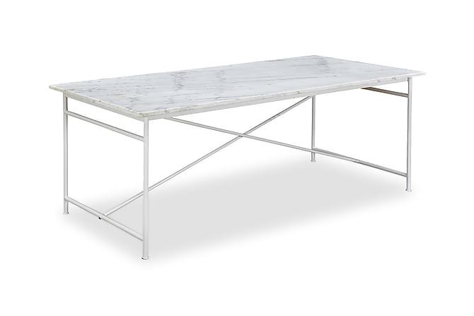 Antwerp Spisebord 200 cm Marmor - Hvid - Møbler - Borde - Spisebord og køkkenbord
