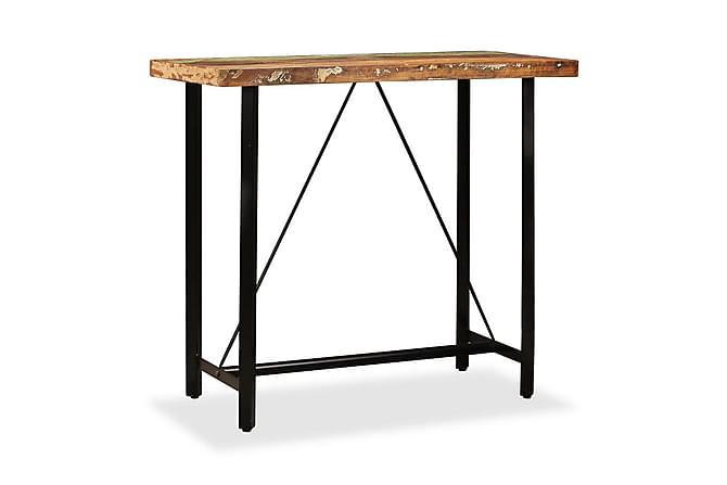 Barbord Massivt Genbrugstræ 120 X 60 X 107 Cm - Brun - Møbler - Borde - Spisebord og køkkenbord