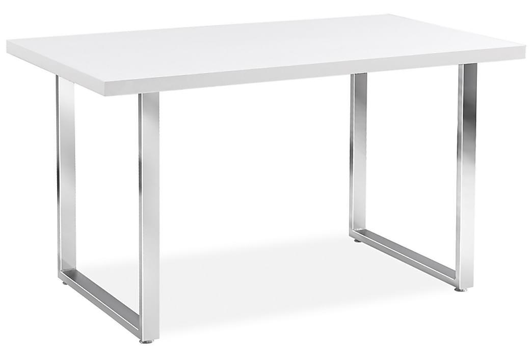 Durah Spisebord 130 cm - Transparent/Sølv - Møbler - Borde - Spisebord og køkkenbord