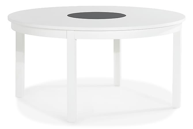 Jasmin Spisebord 150 cm Rund - Hvid - Møbler - Borde - Spisebord og køkkenbord