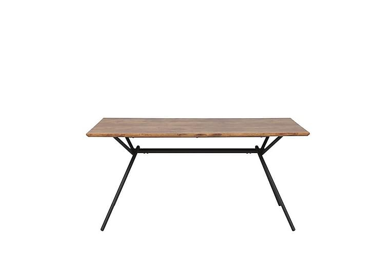 Katham Spisebord 160 cm - Natur/Sort - Møbler - Borde - Spisebord og køkkenbord