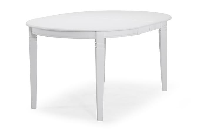 Läckö Udvideligt Spisebord 150 cm Oval - Hvid - Møbler - Borde - Spisebord og køkkenbord