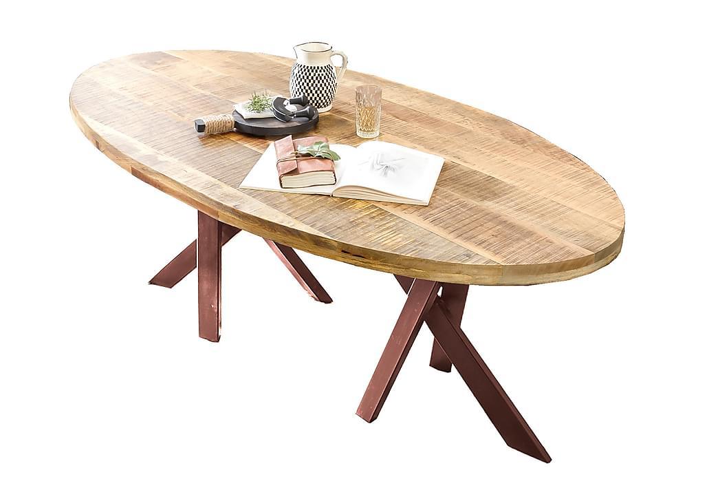 Laikera Spisebord 160x90 cm - Akacie/Brun - Møbler - Borde - Spisebord og køkkenbord