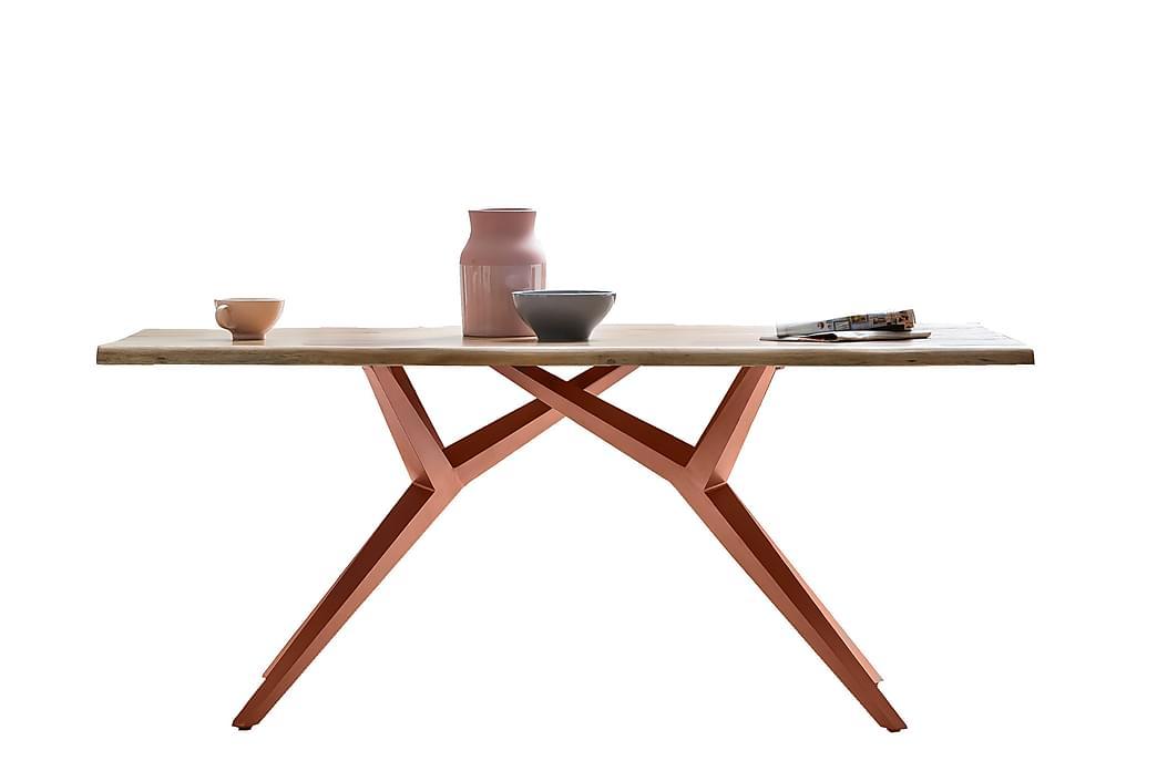 Laikera Spisebord 200x100 cm - Akacie/Brun - Møbler - Borde - Spisebord og køkkenbord