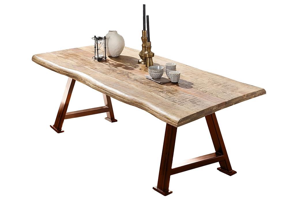Laikera Spisebord 240 cm - Mango/Natur/Brun - Møbler - Borde - Spisebord og køkkenbord