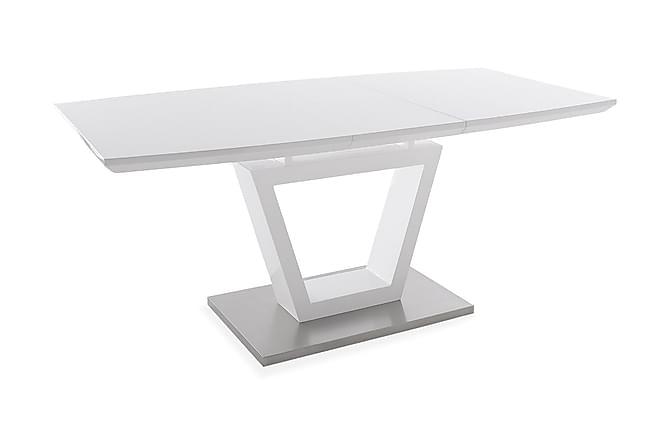Nicolo Udvideligt Spisebord 140 cm - Hvid - Møbler - Borde - Spisebord og køkkenbord