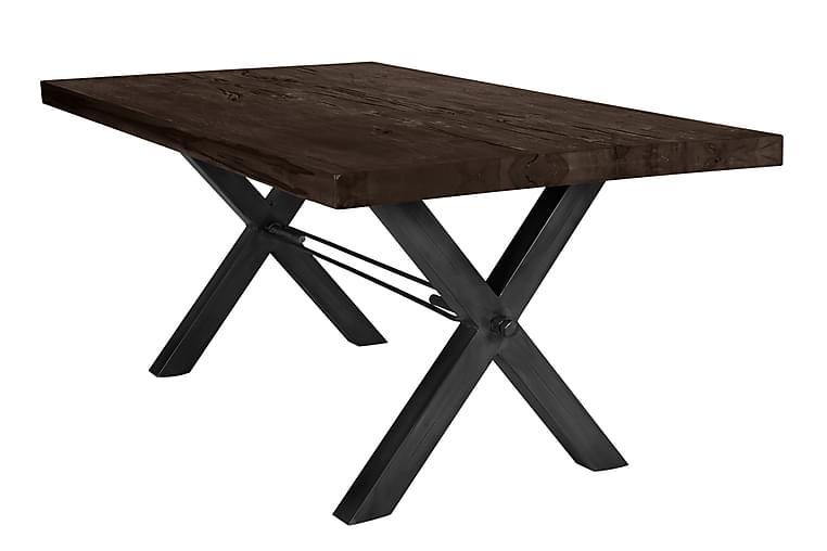 Rotelle Spisebord - Grå/Sort - Møbler - Borde - Spisebord og køkkenbord