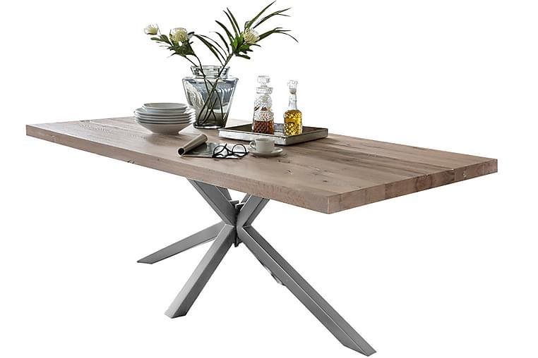 Rotelle Spisebord - Hvid/Sølv - Møbler - Borde - Spisebord og køkkenbord