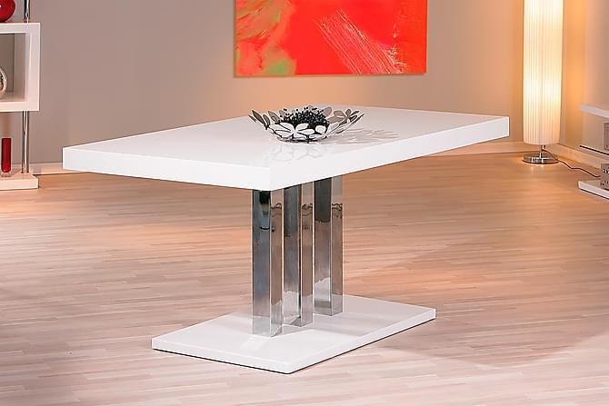Sokrates Spisebord 160 cm - Hvid/Metal - Møbler - Borde - Spisebord og køkkenbord