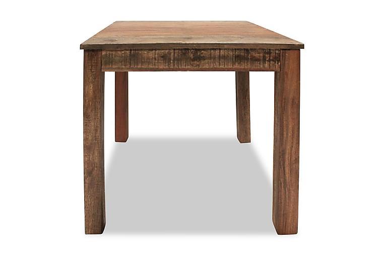 Spisebord I Massivt Genanvendt Træ 82 X 80 X 76 Cm - Brun - Møbler - Borde - Spisebord og køkkenbord
