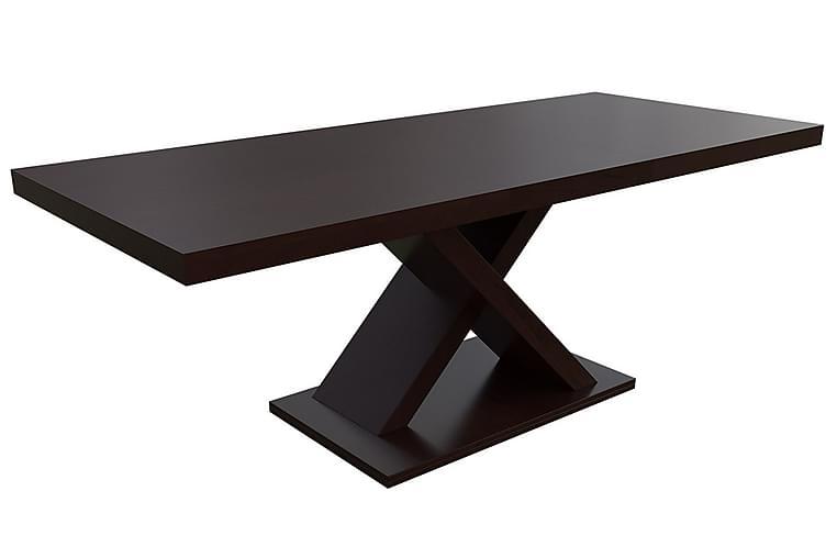 Tabell Spisebord 90x160x78 cm - Nød - Møbler - Borde - Spisebord og køkkenbord