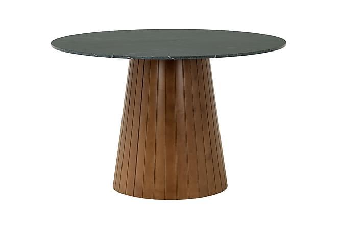 Tucu Bord 120 cm - Grøn/Valnød - Møbler - Borde - Spisebord og køkkenbord