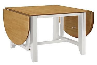 Udvideligt Spisebord (75-180) X 75 X 74 Cm Mdf Hvid