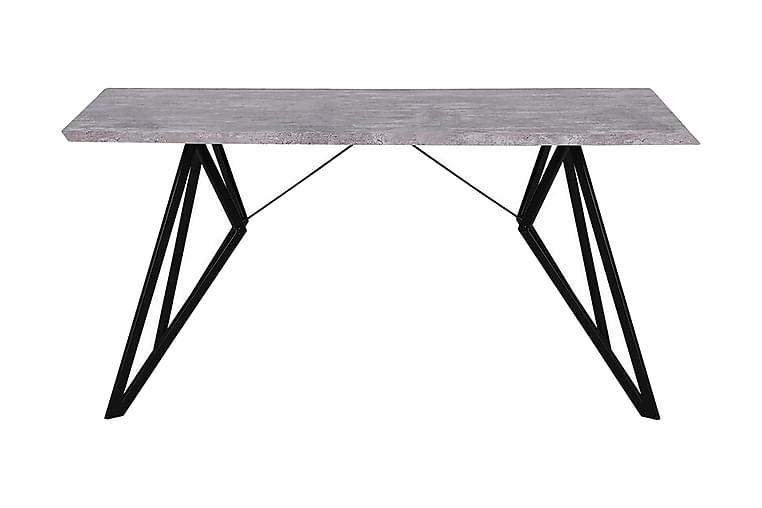Verd spisebord 160x90 cm - Grå - Møbler - Borde - Spisebord og køkkenbord
