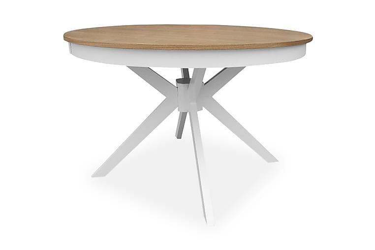 Wrestling Spisebord 120 cm - Hvid | Træ / natur - Møbler - Borde - Spisebord og køkkenbord
