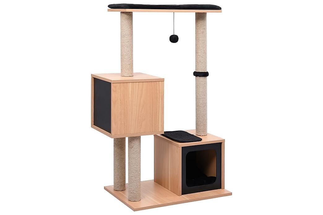 Kradsetræ Med Kradsemåtte Sisal 104 cm - Møbler - Kæledyrsmøbler - Kattemøbler