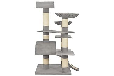 Kradsetræ Til Katte Med Sisalkradsestolper 183 Cm Xxl Grå