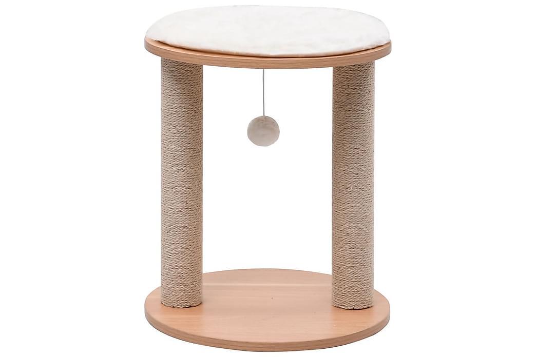 Lille Kradsetræ Med Kradsestolper 44 cm - Møbler - Kæledyrsmøbler - Kattemøbler