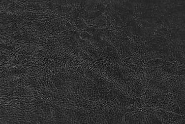 Lænestol kunstlæder sort