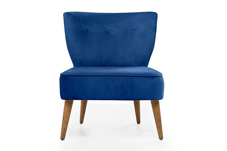 Barriet lænestol - Blå - Møbler - Lænestole & puffer - Lænestole