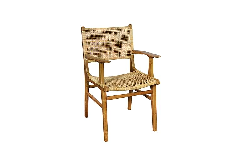 Crucis Lænestol - Træ/Natur - Møbler - Lænestole & puffer - Lænestole